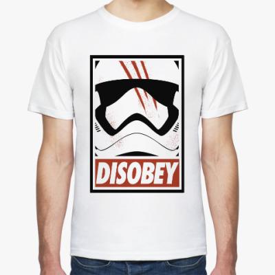 Футболка Star Wars: Disobey