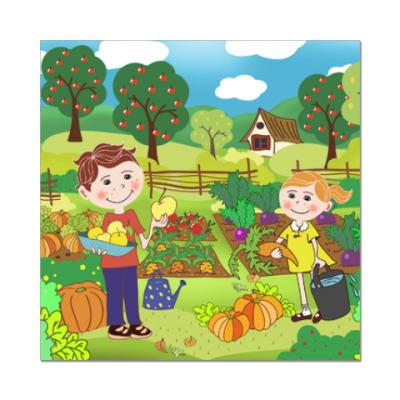 Наклейка (стикер) Дети