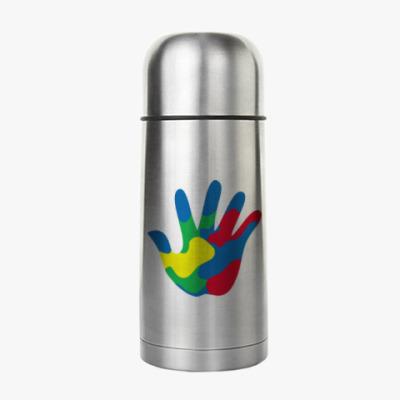 Термос Отпечаток Руки