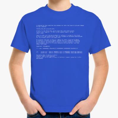Детская футболка BSoD