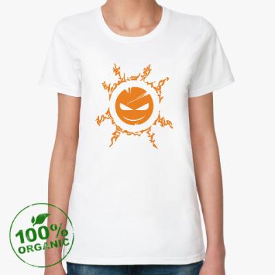 Женская футболка из органик-хлопка Чисто апельсиновый Тимыч