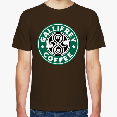 Футболка Gallifrey Coffe