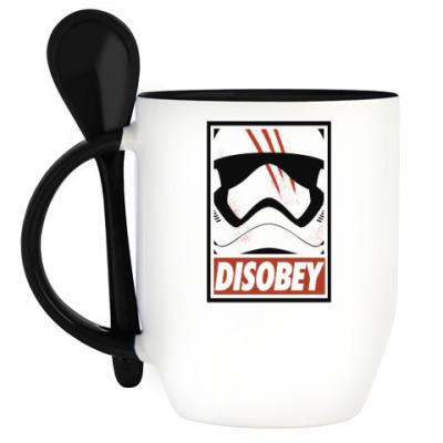 Кружка с ложкой Star Wars: Disobey