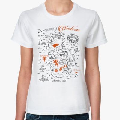 Классическая футболка Вестерос