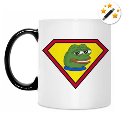 Кружка-хамелеон Super Pepe