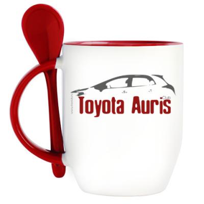 Кружка с ложкой Auris чаный набор