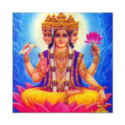 Наклейка (стикер) Brahma
