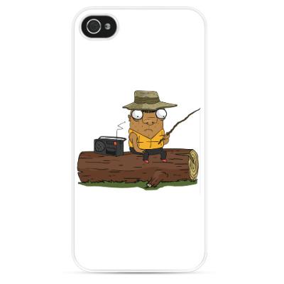 Чехол для iPhone Шамиль-рыбак