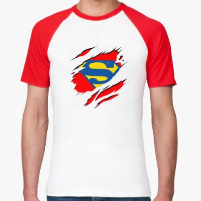 Футболка реглан Super man