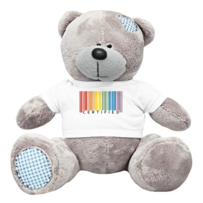 Плюшевый мишка Тедди Сертификат любви