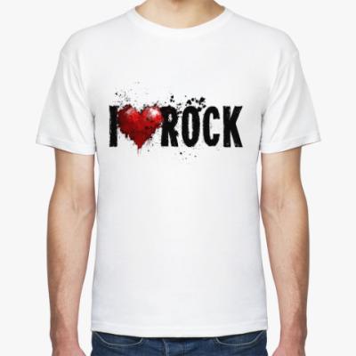 Футболка I Love Rock