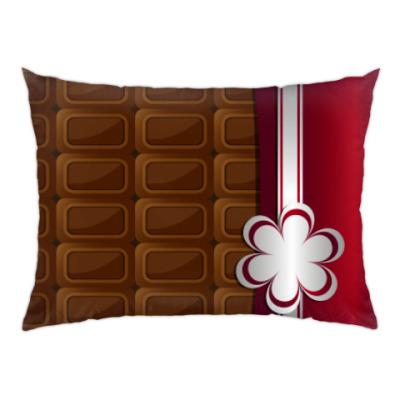 Подушка шоколад