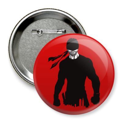 Значок 75мм Daredevil