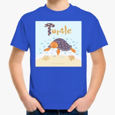 Детская футболка Черепаха