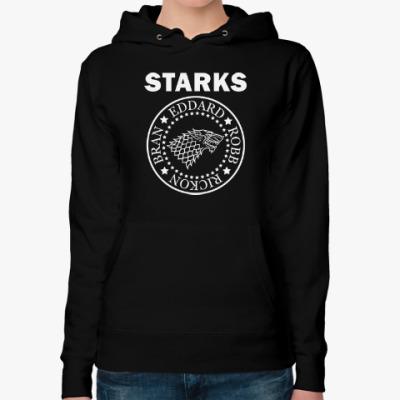 Женская толстовка худи Starks