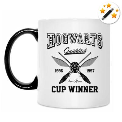 Кружка-хамелеон Hogwarts Quidditch Cup Winner