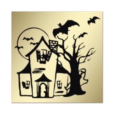Наклейка (стикер) Хеллоуин