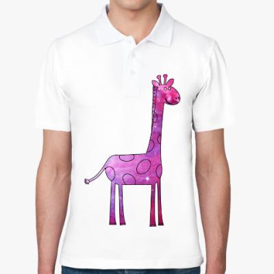 Рубашка поло Космический Жираф
