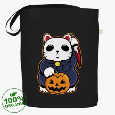 Сумка Halloween Maneki Neko и тыква