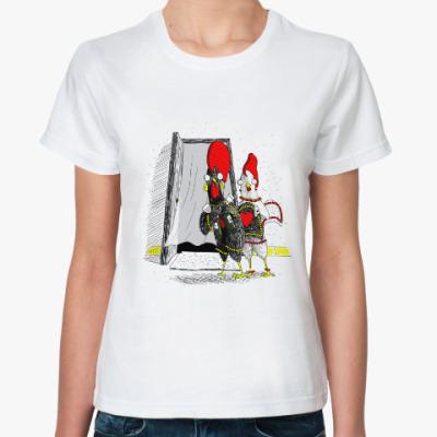 Классическая футболка Португальский петух Барселуш