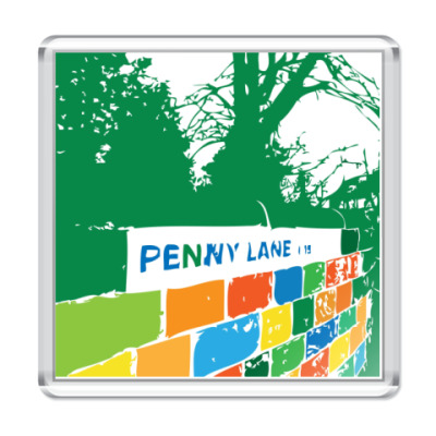 Магнит  The Beatles -Penny Lane