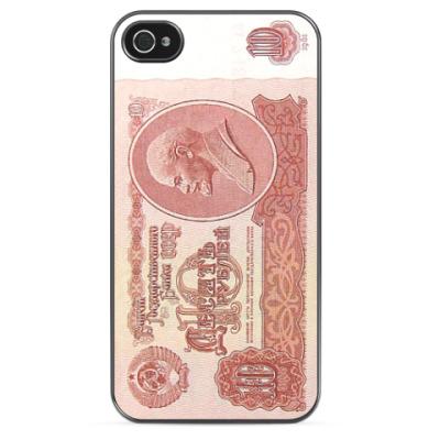 Чехол для iPhone 'Десять рублей'