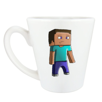 Чашка Латте Minecraft Steve