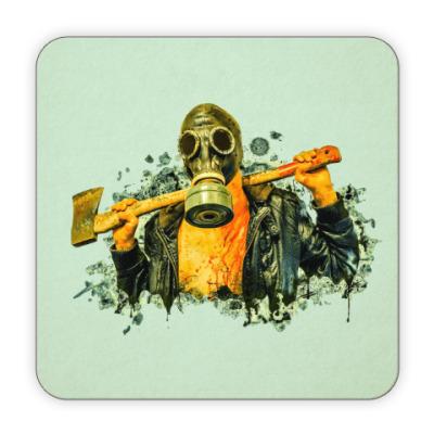 Костер (подставка под кружку) Zombie Killer