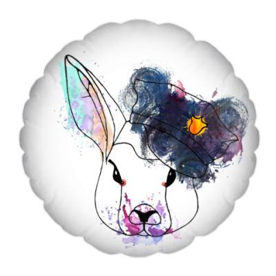 Подушка Кролик в фуражке