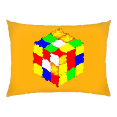 Подушка Кубик Рубика