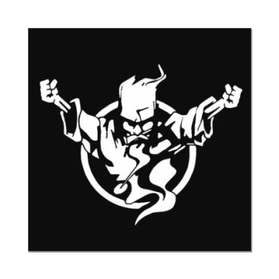 Наклейка (стикер) Thunderdome