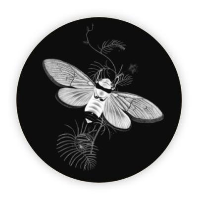 Костер (подставка под кружку) Бабочка