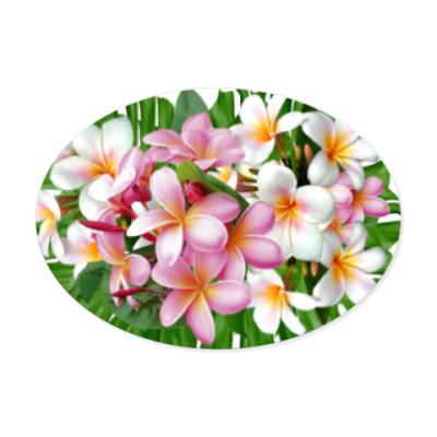 Виниловые наклейки Тропические цветы