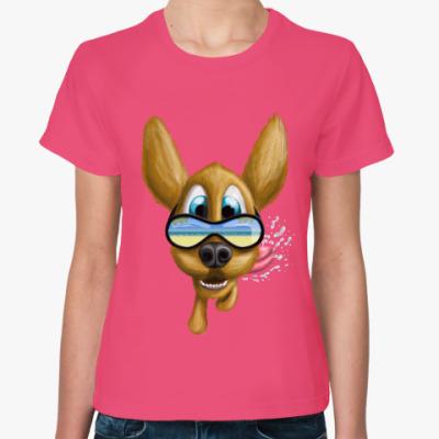 Женская футболка Хочу на море