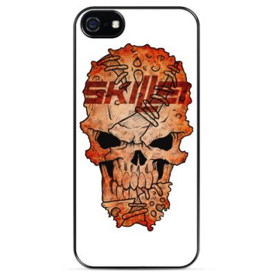 Чехол для iPhone Skillet Skull