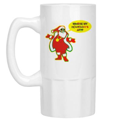 Пивная кружка Santa