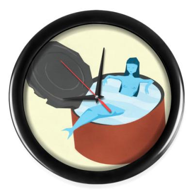 Настенные часы русалка