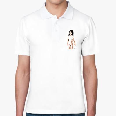 Рубашка поло Сексуальная девушка