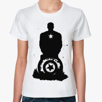 Классическая футболка Captain America