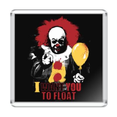 Магнит Clown It by Stephen King