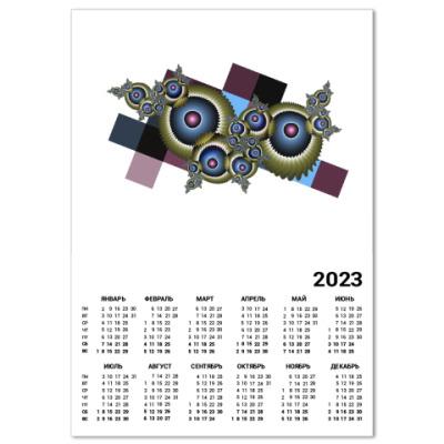 Календарь Глаза