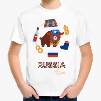 Детская футболка Russia, Ёпта