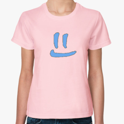 Женская футболка Чистая улыбка