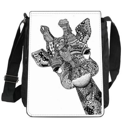 Сумка-планшет Счастливый жираф