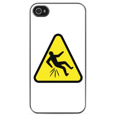 Чехол для iPhone Осторожно: обида!