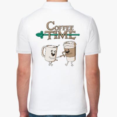 Рубашка поло Coffee Time