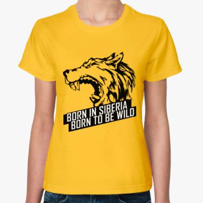 Женская футболка Байкал Сибирь