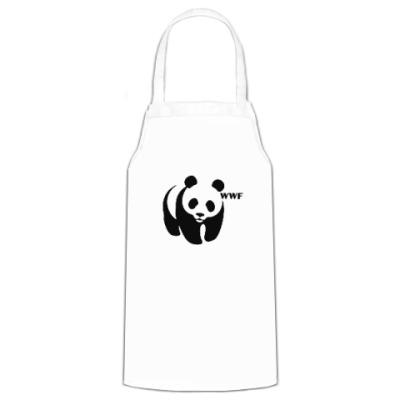 Фартук WWF. Панда с лого