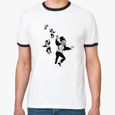 Футболка Ringer-T Trolldad-dance