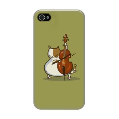 Чехол для iPhone 4/4s Пятничный Котик №24
